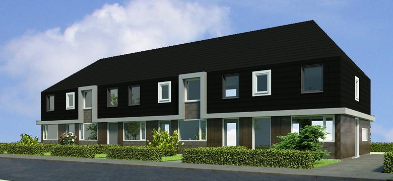 Projectontwikkeling duurzame starterswoningen