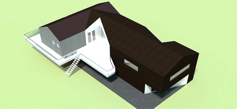 Verbouwing schuurwoning, architectuur Friesland