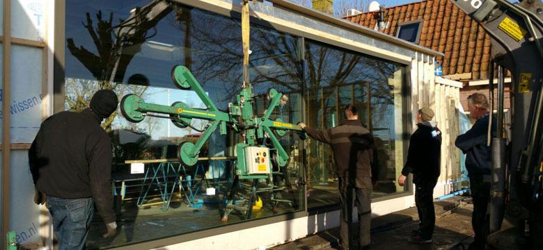 Renovatie, nieuwbouw, restauratie Villa Hindeloopen, architectuur Friesland