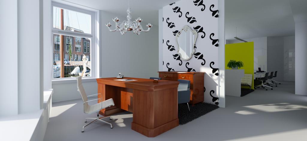 Interieurdesign kantoor Harlingen