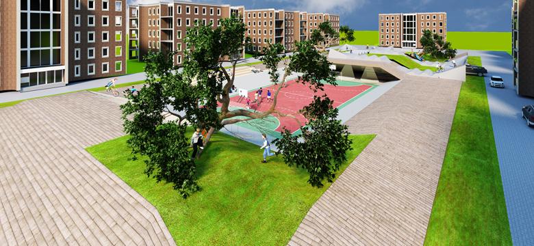 Architectuur prijsvraag duurzame speeltuin
