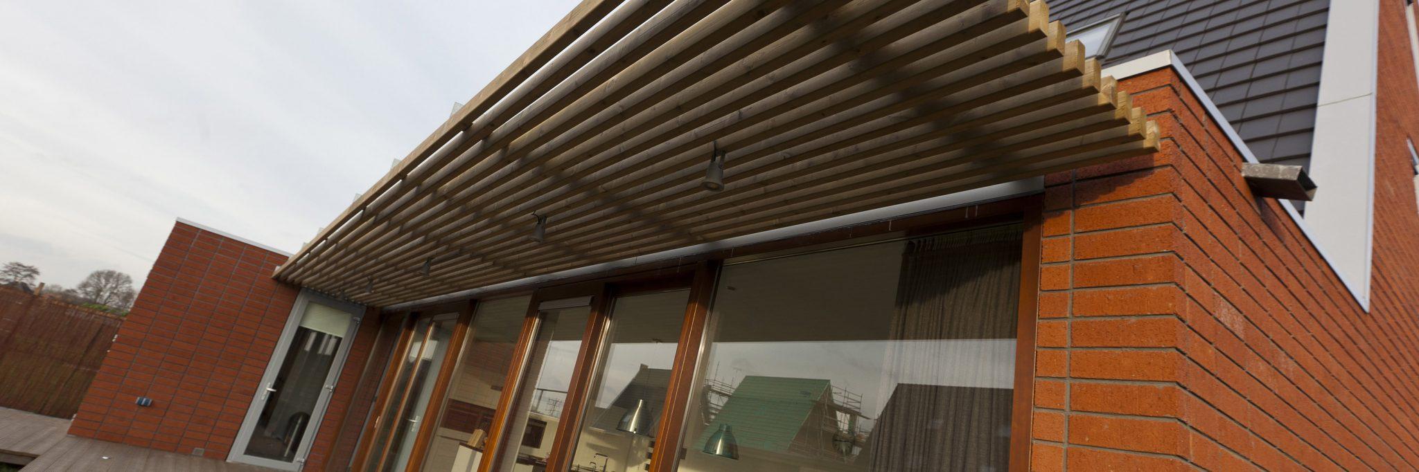Duurzame architectuur nieuwbouwwoning Friesland