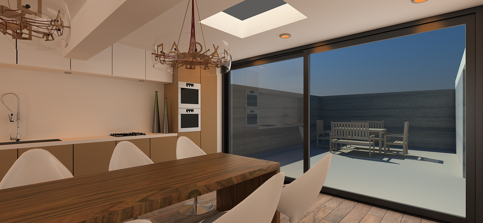 Architectuur Friesland, uitbreiding keuken
