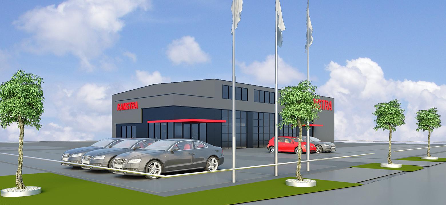BMW specialist Franeker nieuwbouw 01
