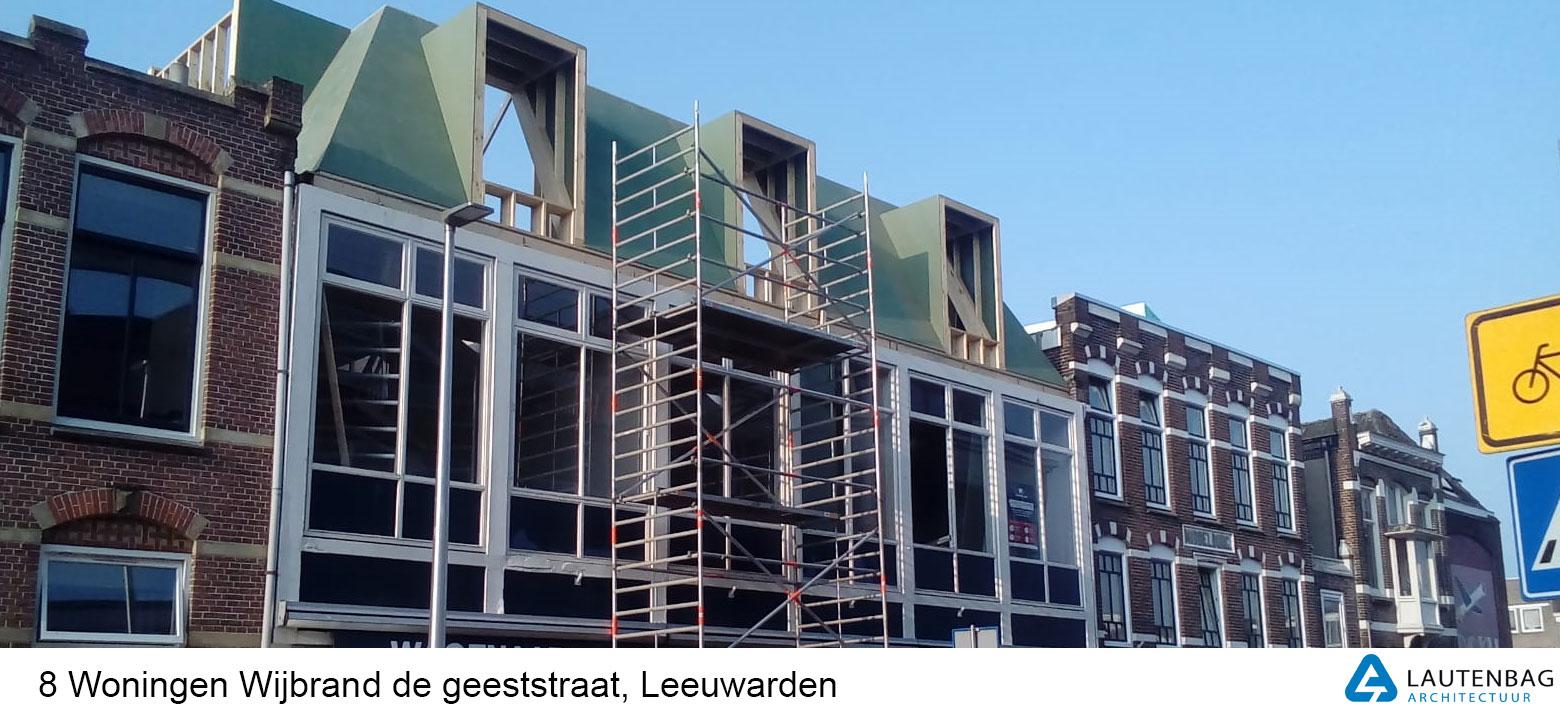 8 woningen Leeuwarden