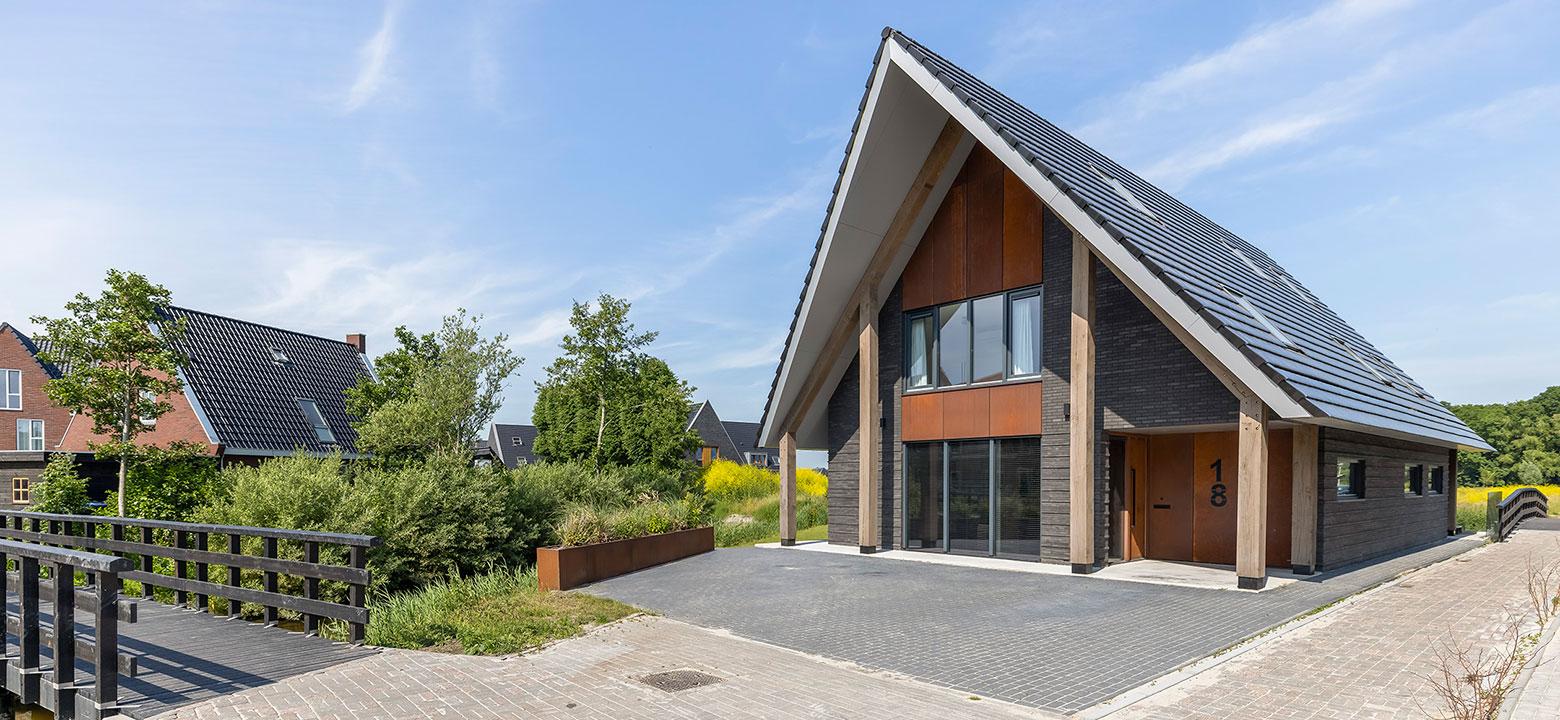 Nieuwbouw woning De Klamp Leeuwarden