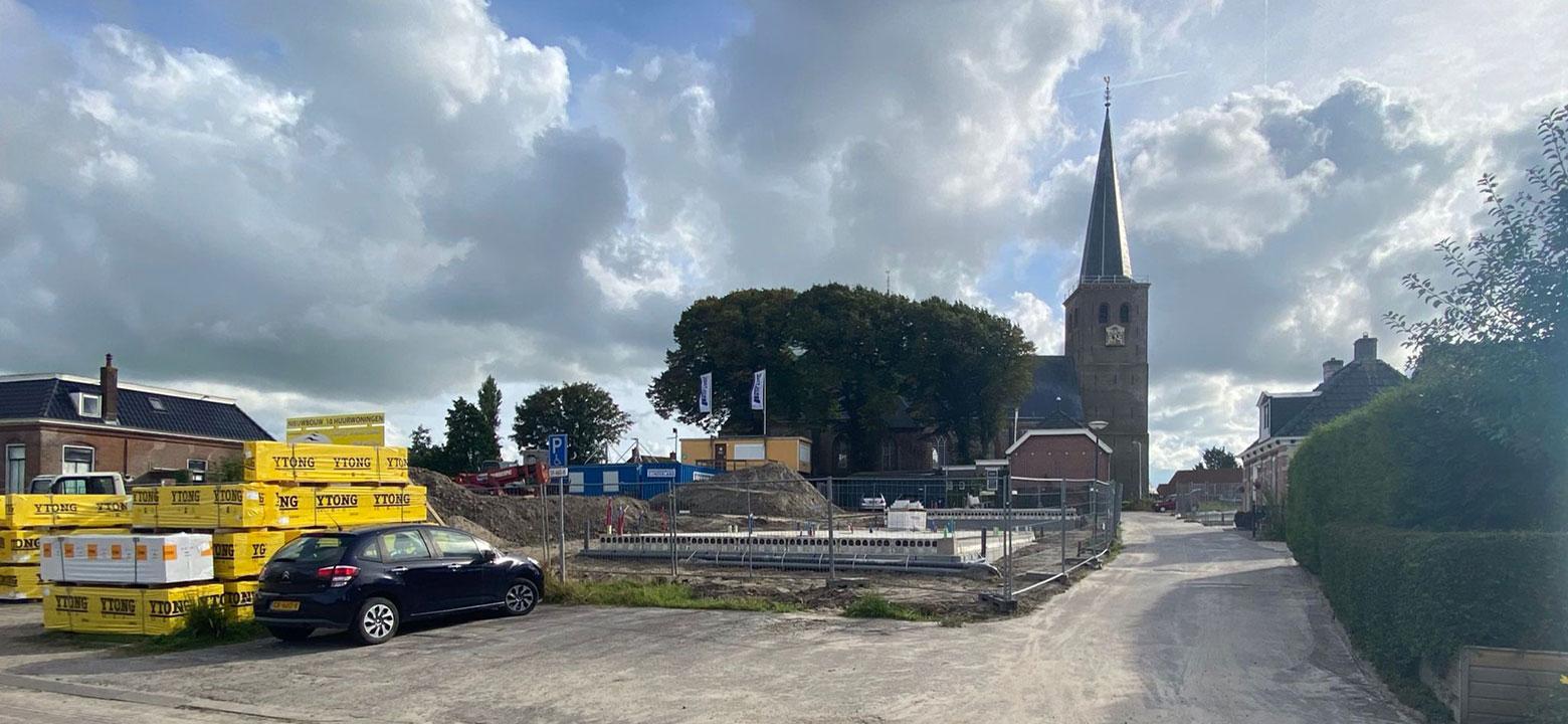 10 nieuwbouwwoningen rijksbeschermd dorpsgezicht Hallum